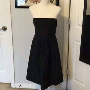 Strapless Black Theory cocktail dress